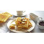 Завтрак для всей семьи с помощью вафельницы