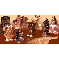 Фигурки из шоколада – готовим дома