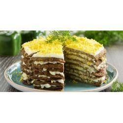 Как легко приготовить печеночный торт?