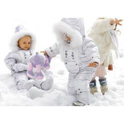 Теплая одежда из овчины для детей