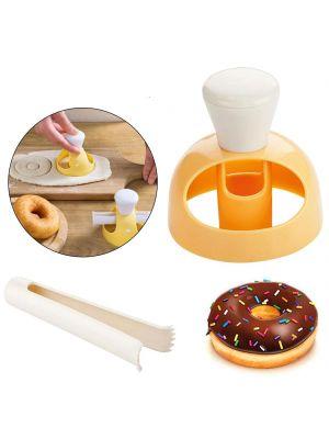 """Форма для пончиков и донатов со щипцами для намачивания """"Мастер пончик"""""""