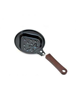 Форма мини-сковорода в виде клубнички для приготовления оладьев, блинов, омлета, яичницы