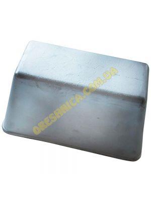 """Форма хлебная для выпечки стандарного """"социального"""" хлеба кирпичика Л7 алюминий /22*11*11.5 см/"""