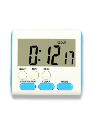 Таймер многофункциональный цифровой кухонный (часы-будильник)
