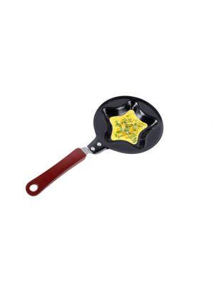 Форма мини-сковорода в виде звезды для приготовления оладьев, блинов, омлета, яичницы
