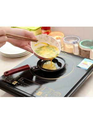 Форма міні-сковорода у вигляді серця для приготування оладків, млинців, омлета, яєшні