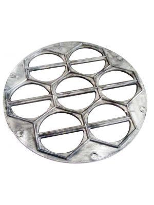 Металлическая варенница (форма для приготовления вареников) Ø26 см