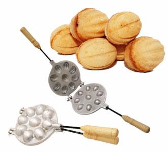Форми для випічки горішків (Горішниці)