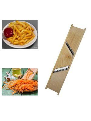 Терка для корейской морковки и картошки фри с двумя лезвиями 2 в 1