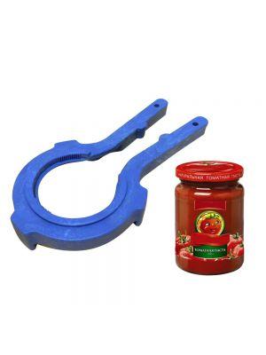 Ключ-съемник пластмассовый для открывания и закрывания винтовых крышек (66, 82, 100 мм)