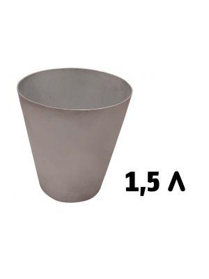 Набор из 3 форм для выпечки пасхи, куличей, хлеба и кексов 1.5 л / 1.0 л / 0.5 л