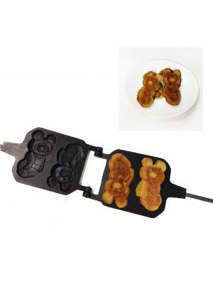 """Форма для выпечки """"Олимпийский мишка"""" с антипригарным (тефлоновым) покрытием"""