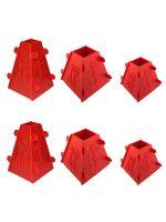 Набор из 6 форм для творожной и сырной пасхи 2x1.0 кг /  2x0.5 кг / 2x0.3 кг