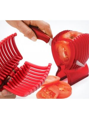 Держатель слайсер для резки помидоров, овощей и фруктов Jialong